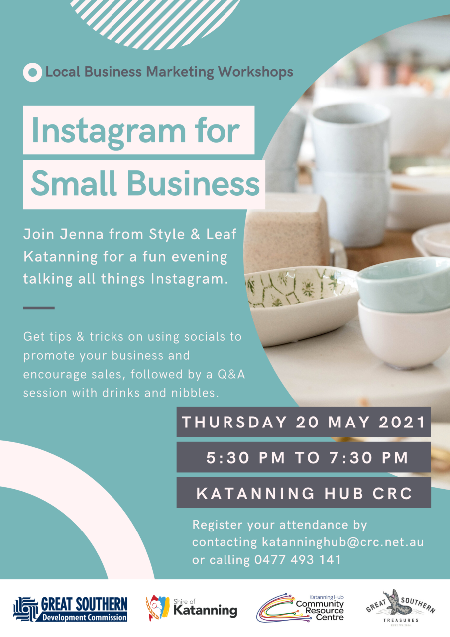 Instagram for Small Business - Rescheduled to 20 May