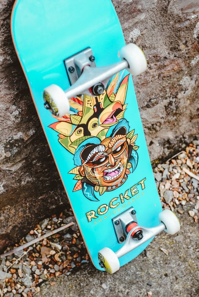 Katanning Youth: Skate Deck Painting