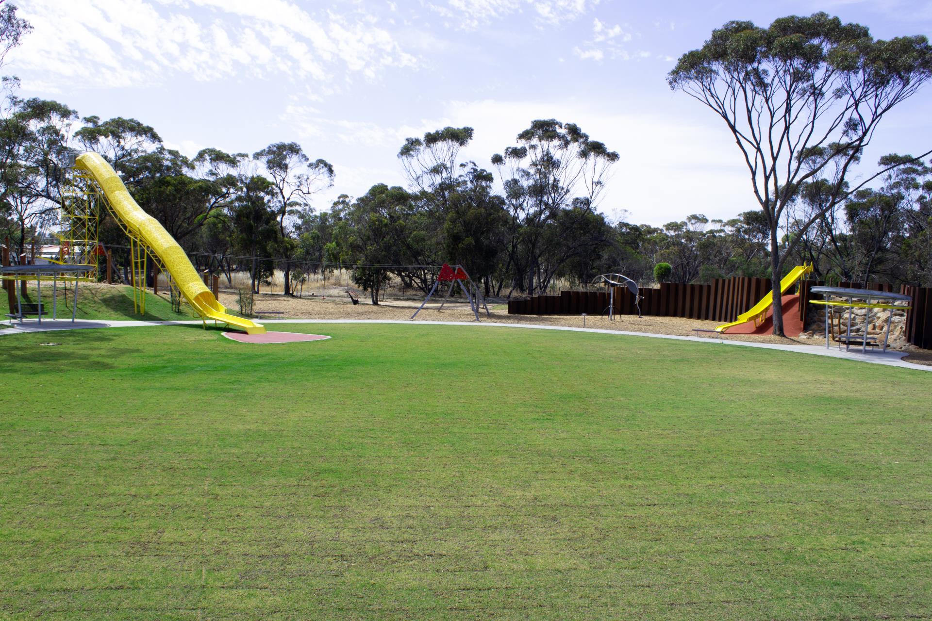 ALL AGES PLAYGROUND TURF ESTABLISHMENT